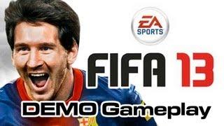 FIFA 13 DEMO - Menu and Goals