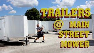 Trailers at Main Street Mower