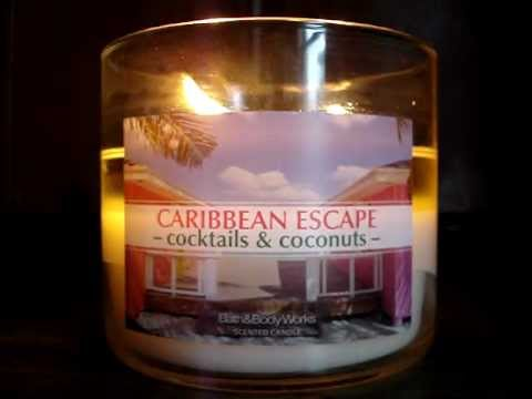 Bath and Body Works Around the Globe Candle Review: Caribbea