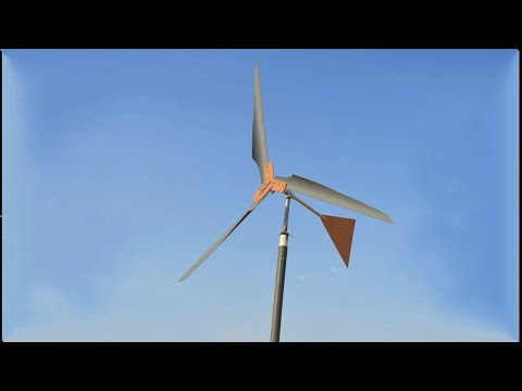 How to Make Wind Turbine - Science Project