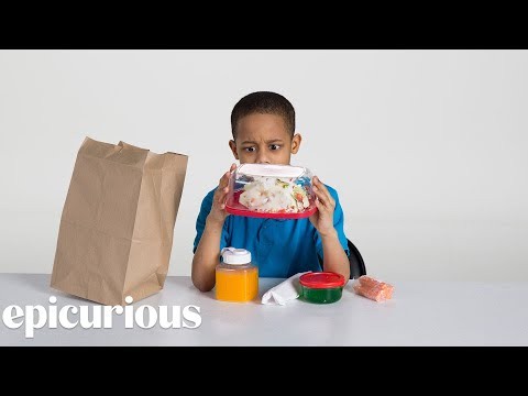 Kids Try 100 Years of Brown Bag Lunches from 1900 to 2000 | Bon Appetit