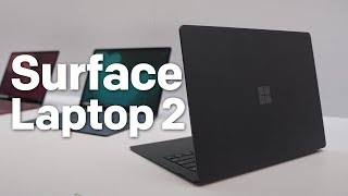 Surface Laptop 2 is significantly speedier than its predecessor, co...