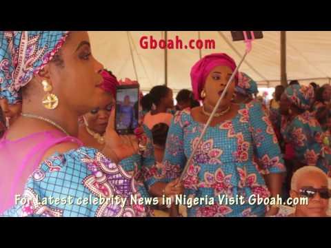 See Lola Idije ,Yinka Quadri,Ogogo ,Ronke Oshodi at late Toyin Majekodunmi burial reception