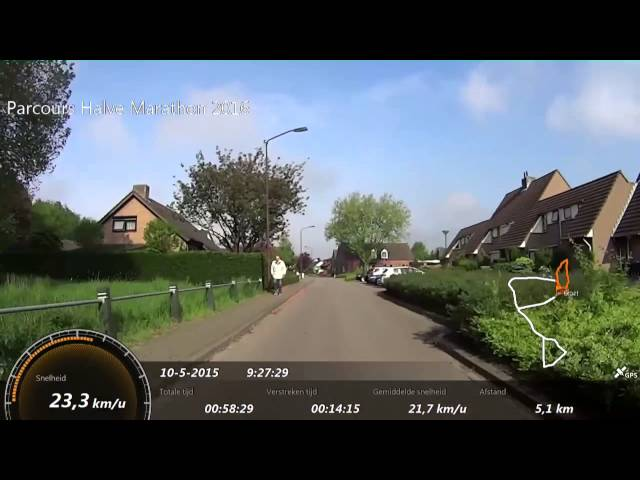 10km en halve marathon Vlietloop 2016 't Veerke