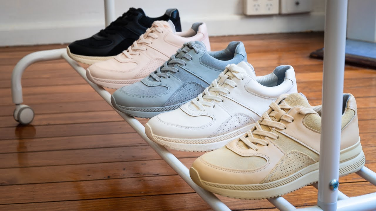 How To Style Non-White Sneakers - YouTube