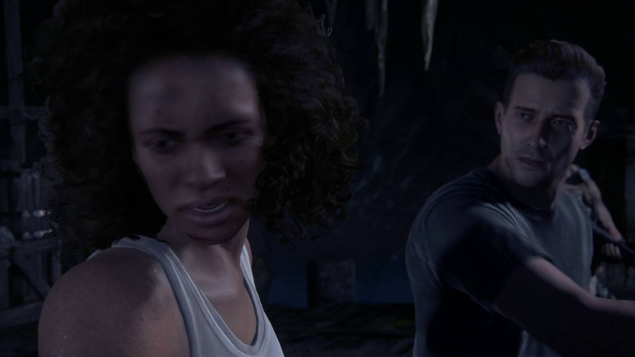 Uncharted 4 A Thief S End Brother S Keeper Rafe Adler Slaps Nadine Ross Betrays Her Cutscene Youtube
