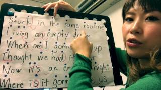ONE OK ROCK【Taking Off】〜ボイトレ Aメロ編〜英語をカッコよく歌おう!彬子先生による歌い方解説《カラオケ採点UP講座》
