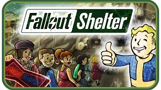 FALLOUT SHELTER • Ich sitz in meinem Bunker ☢ [ Fallout Shelter PC Gameplay German ]