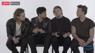 5 Seconds of Summer live at Amazon Music UK