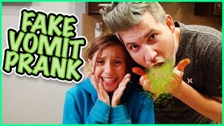 fake puke prank it is operation get jesse well day   smelly belly tv   family vlog