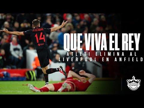 SIN TEMOR A ANFIELD - ATLÉTICO DE MADRID ELIMINA AL LIVERPOOL de la CHAMPIONS LEAGUE