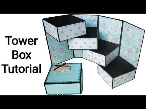 gift box tower wala mk creative art //She Trends MK