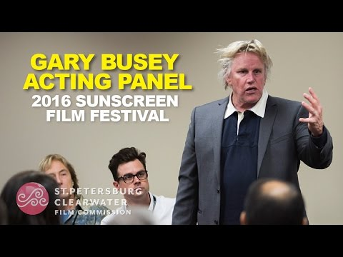 Gary Busey, Jason Matthew Smith, Tara Westwood, Lee Perkins, Actors Panel, Sunscreen Film Fest