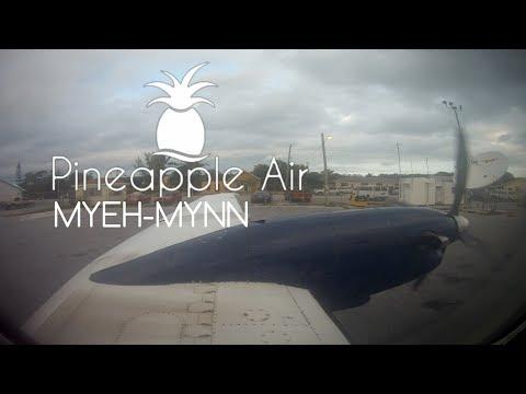 Pineapple Air | Beech 1900C | C6- KRC | North Eleuthera → Nassau | ThiEYE T5e