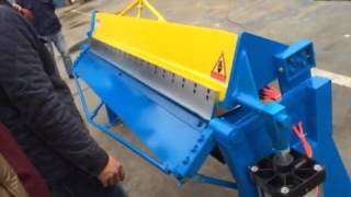 Pneumatic folding machine / bending machine from Dream World