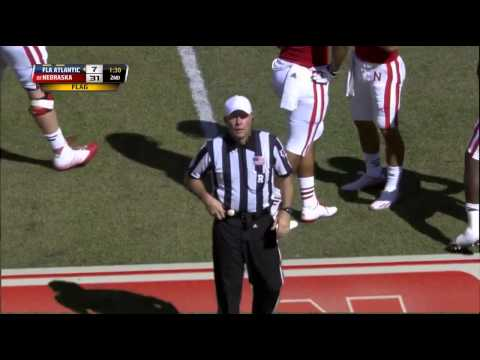 2014 - Florida Atlantic at Nebraska