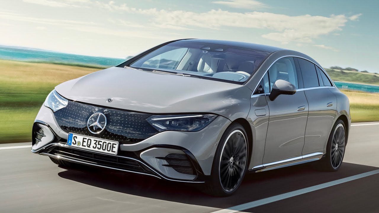 New EQE 350 Edition One - Mercedes EQE 2022 | Mercedes Benz Electric Vehicle 4K