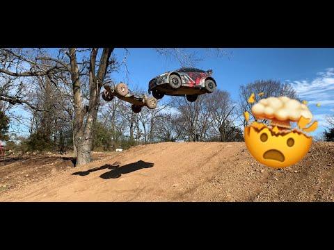Traxxas Slash 4x4 & Traxxas Rally Ford Fiesta Big Jumps