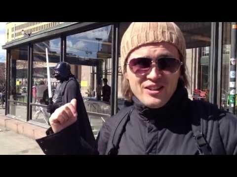 Meeting Darth Vader in Helsinki