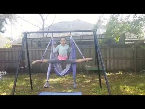 Yoga trapeze ariel yoga fun things to do with yoga trapeze