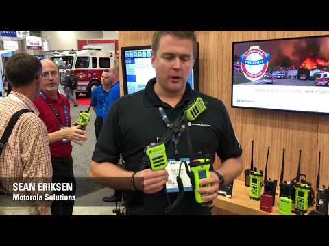 Motorola Solutions: APX8000 HXE All-Band P25 Hazloc Portable Radio