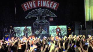 (HD) Far from home + the bleeding - Five finger death punch live glasgow O2 academy UK tour 2014