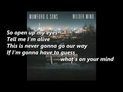 Mumford & Sons - Believe (with lyrics)