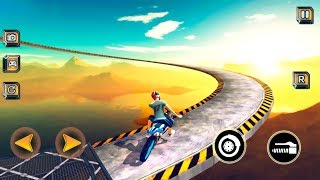 Impossible Bike BMX Tracks Stunt - Gameplay Android games - exciting bike stunts game