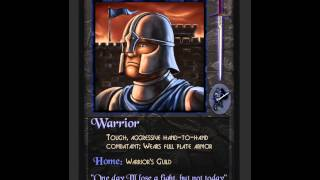 Majesty: The Fantasy Kingdom Sim - Warrior Voice