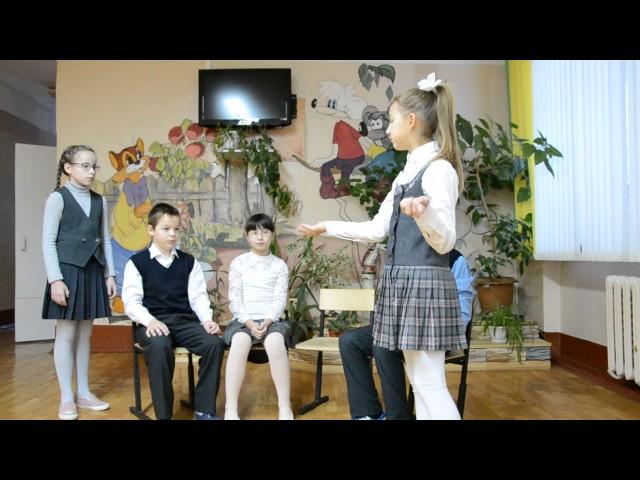 Изображение предпросмотра прочтения – «г.Рязань Школа №59» читают произведение «Квартет» И.А.Крылова