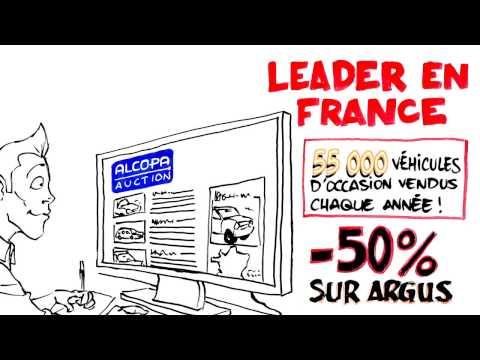 Alcopa Auction - Leader physique en France des ventes aux enchères de voitures d'occasion