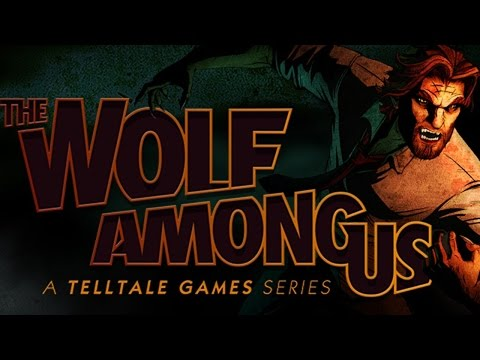The Wolf Among Us Walkthrough Episode 1-5 Complete Game Movie