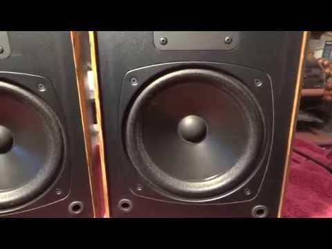 Demo Boston HD7 Speakers