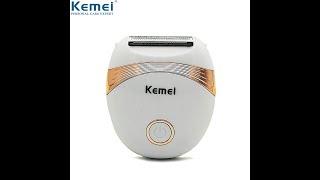 Kemei 673 мини машинка для удаления волос женская бритва женский эпилятор лица бикини триммер