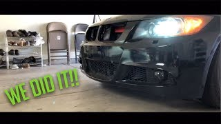 THE 335I GETS A FULL FACELIFT (PASSED SMOG!!!)