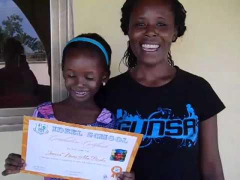Jessica Graduates-Ghana Africa 2011