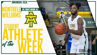 Arkansas Tech Student Athlete of the Week - Montrell Williams