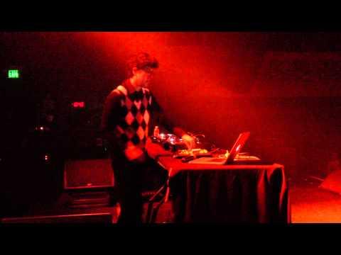 ALVIN RISK DIMINISHING RETURNS Ali Love live @  Skream & Benga Regency Ballroom San Francisco