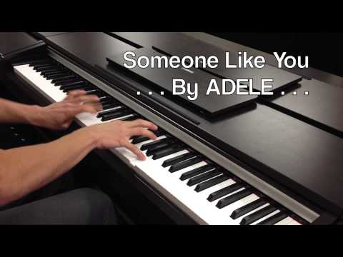 ♫ 'Someone Like You by ADELE Piano Cover ♫ **Sheet Music** (HD)