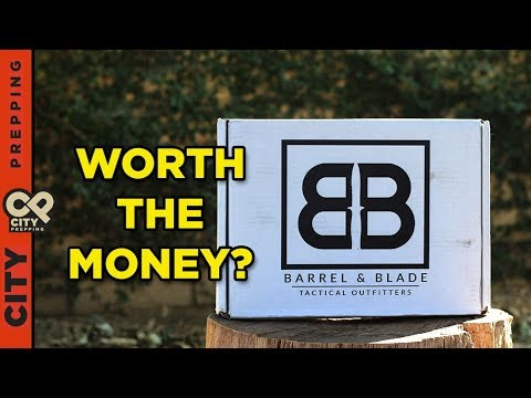 Barrel and Blade tactical outfitters subscription review