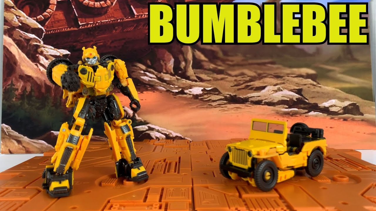 Transformers Studio Series #57 Offroad Bumblebee Unboxing and Review By Enewtabie