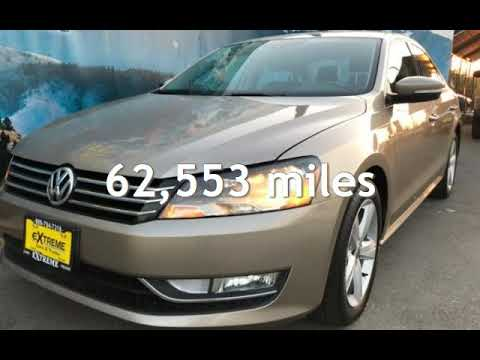 2015 Volkswagen Passat 1.8T S PZEV for sale in REDLANDS, CA