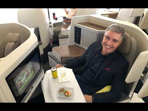 A330neo NOVA CLASSE EXECUTIVA TAP AIR PORTUGAL + COCKPIT LANDING | Lisboa-Rio