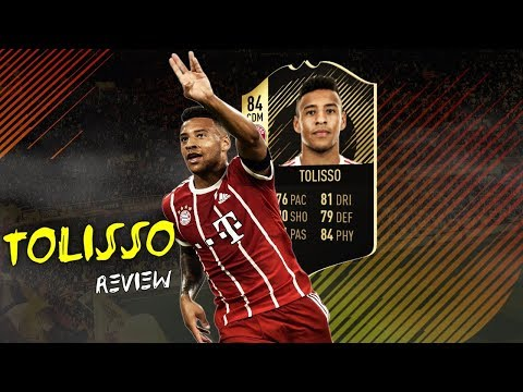 FIFA 18 - INFORM TOLISSO (84) PLAYER REVIEW