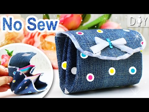 Diy Coin Purse No Sew DIY Wallet for GIRLS |...