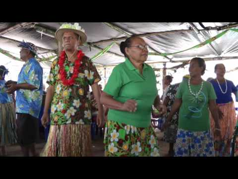 201607 Unveiling event in a Motuan village, Papua New Guinea