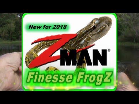 "New 2.75"" Z-Man Finesse FrogZ Performance Review"