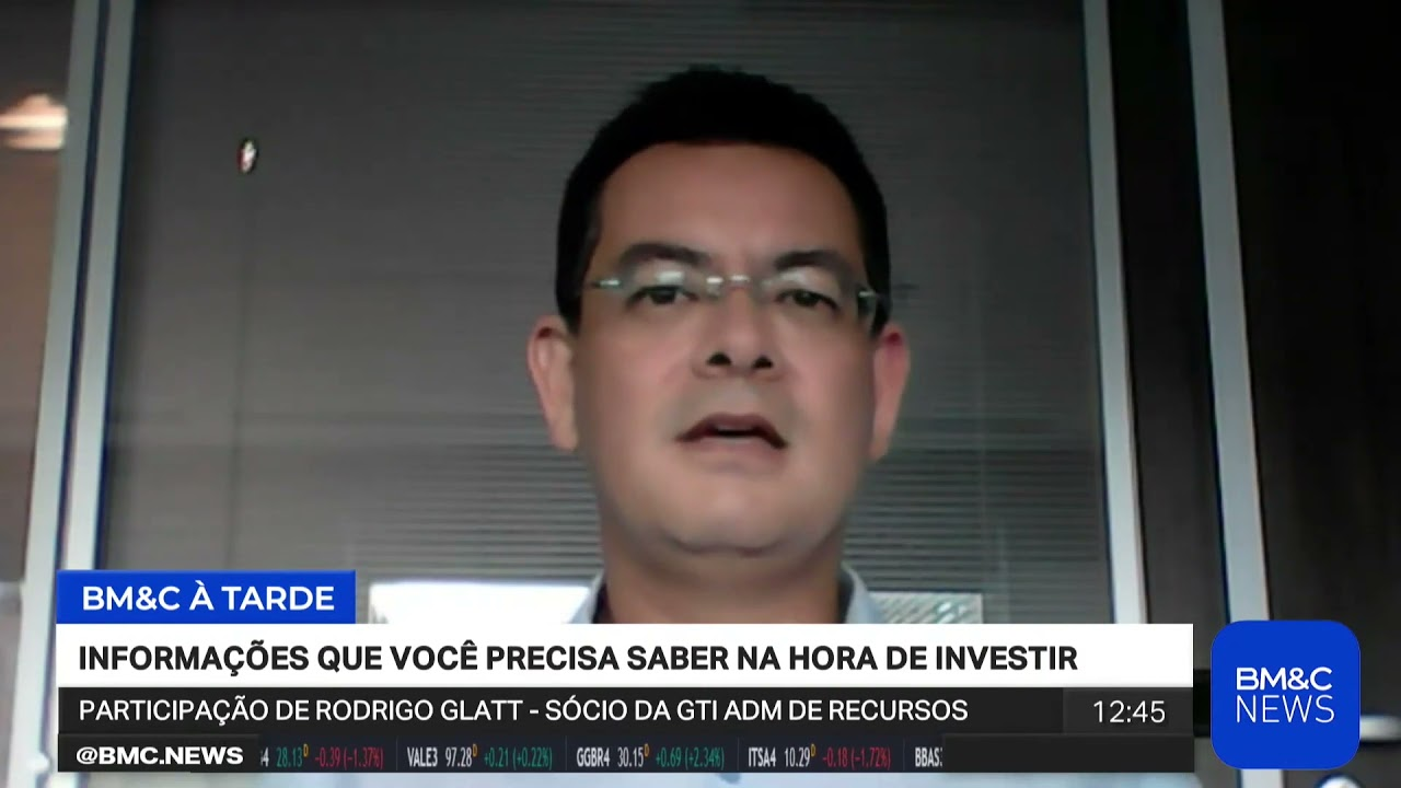 Rodrigo Glatt, da GTI, avalia 1º tri de 2021 na BM&C News