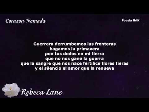 Corazón Nómada - Rebeca Lane ( Con Letra)