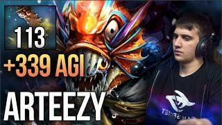 🌀 ARTEEZY SLARK 🌀 113 ESSENCE SHIFT STACKS 🌀 339 AGI+ 🌀 IMBA DOTA 2 🌀